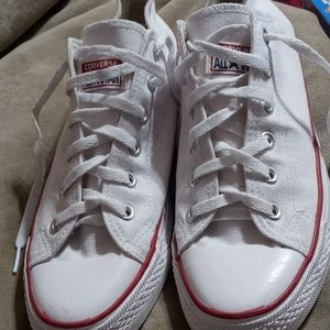 Converse shoes mens 8.5 womens 10.